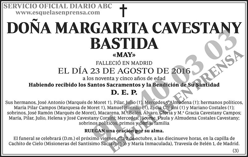 Margarita Cavestany Bastida
